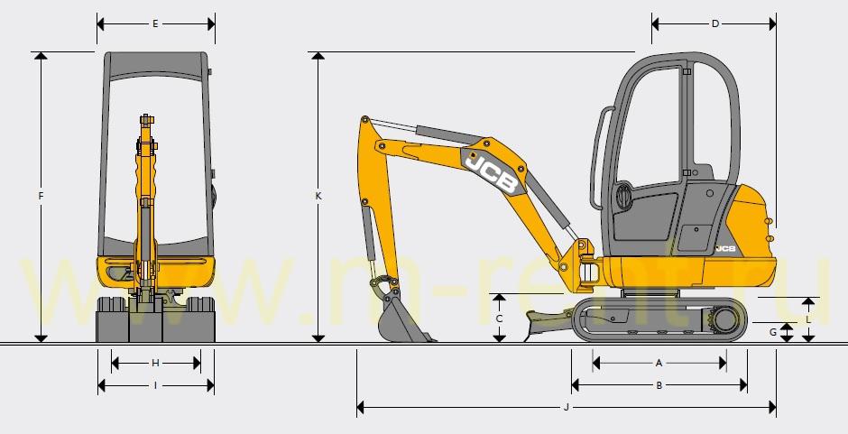 Экскаватор Hyundai R170W7 Технические характеристики